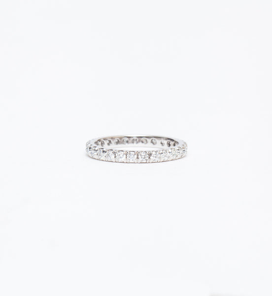 French Set Eternity Band