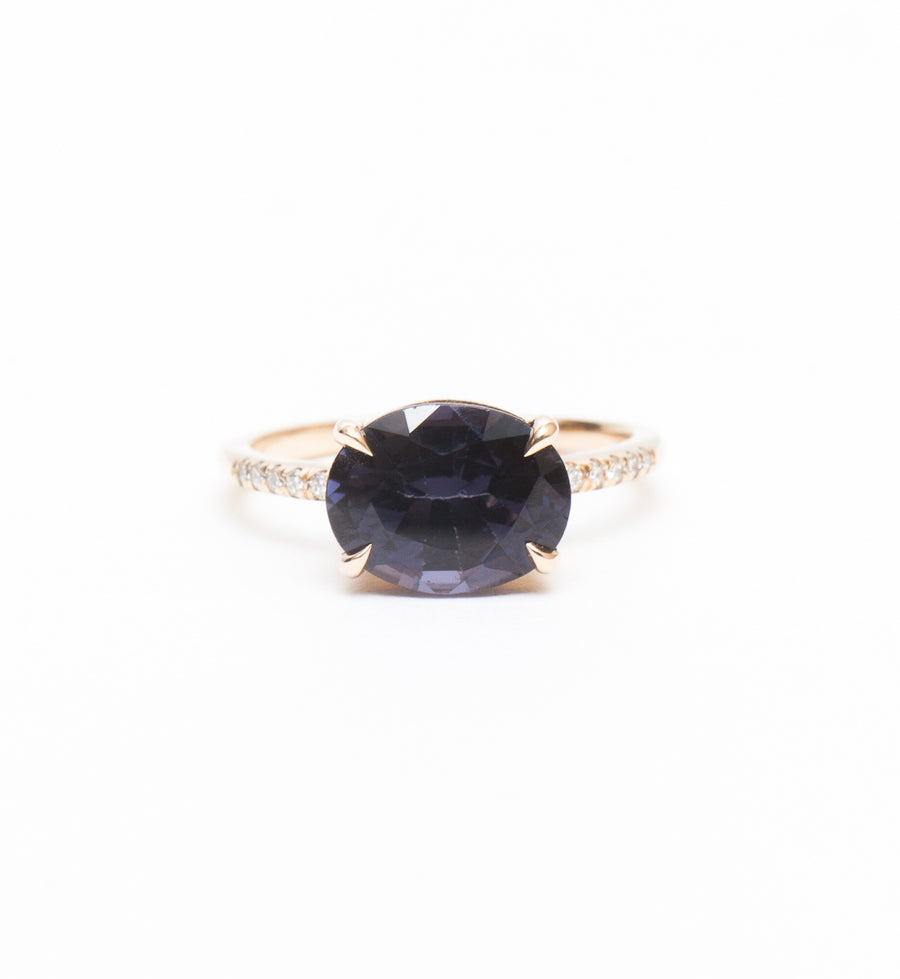 One-of-a-Kind Spinel Lumen Ring
