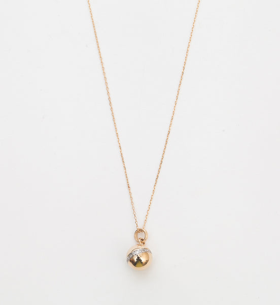 Pavé Orbit Necklace