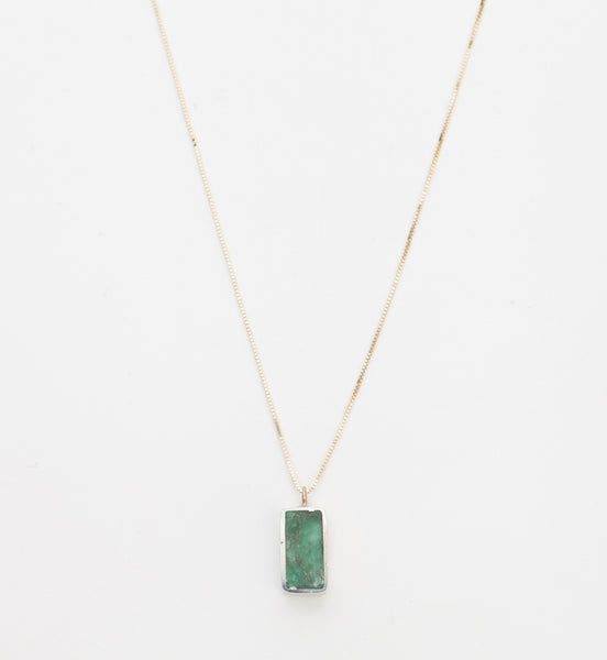 Varsicite Rectangle Forma Necklace