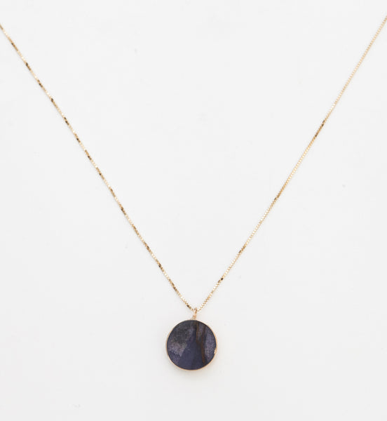 Jasper Circ Necklace