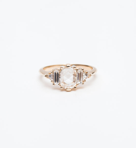 Rose-Cut Diamond Theda Ring