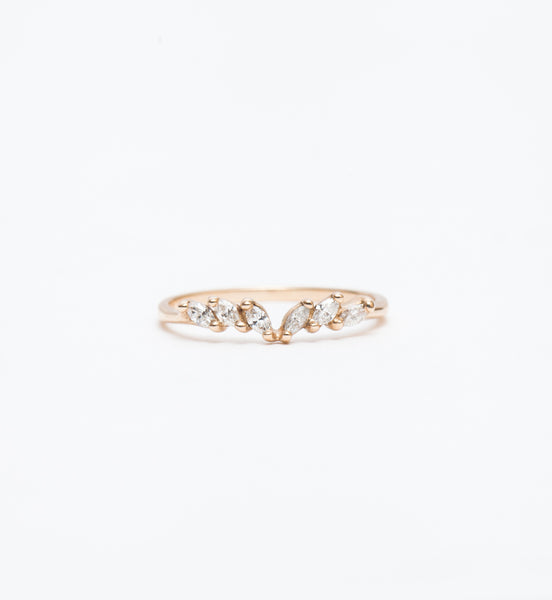Diamond Jasmine Ring