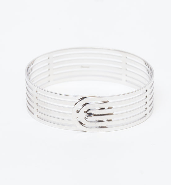 Sterling Silver Infinity Cuff