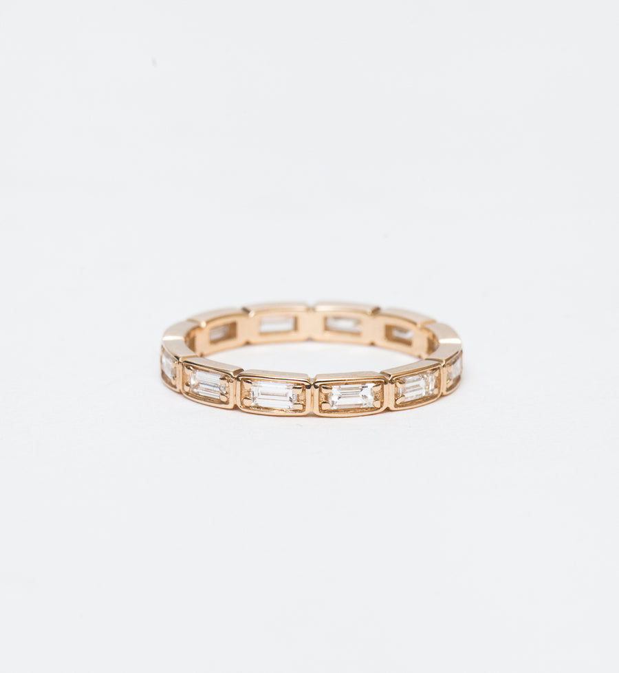 Wheat Baguette Eternity Band