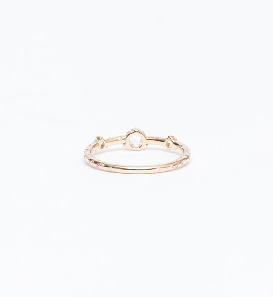 Dew Drop Triplet Ring