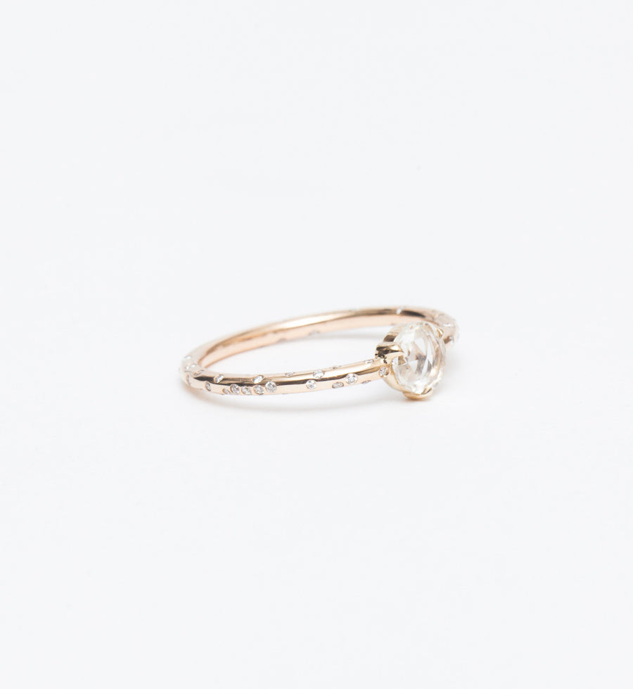 Dew Drop Solitaire Ring