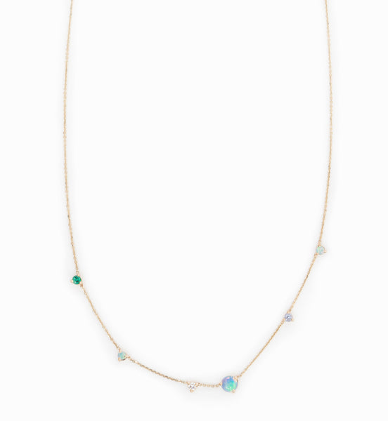 Linear Chain Necklace
