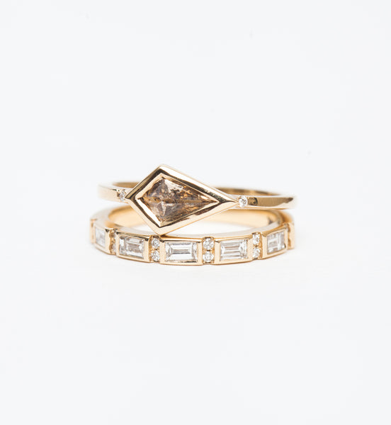 Harmony Baguette Diamond Ring