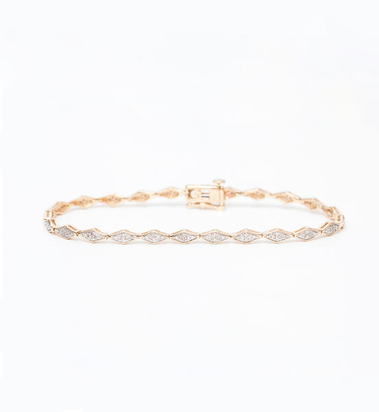 Pavé Diamond Tennis Bracelet
