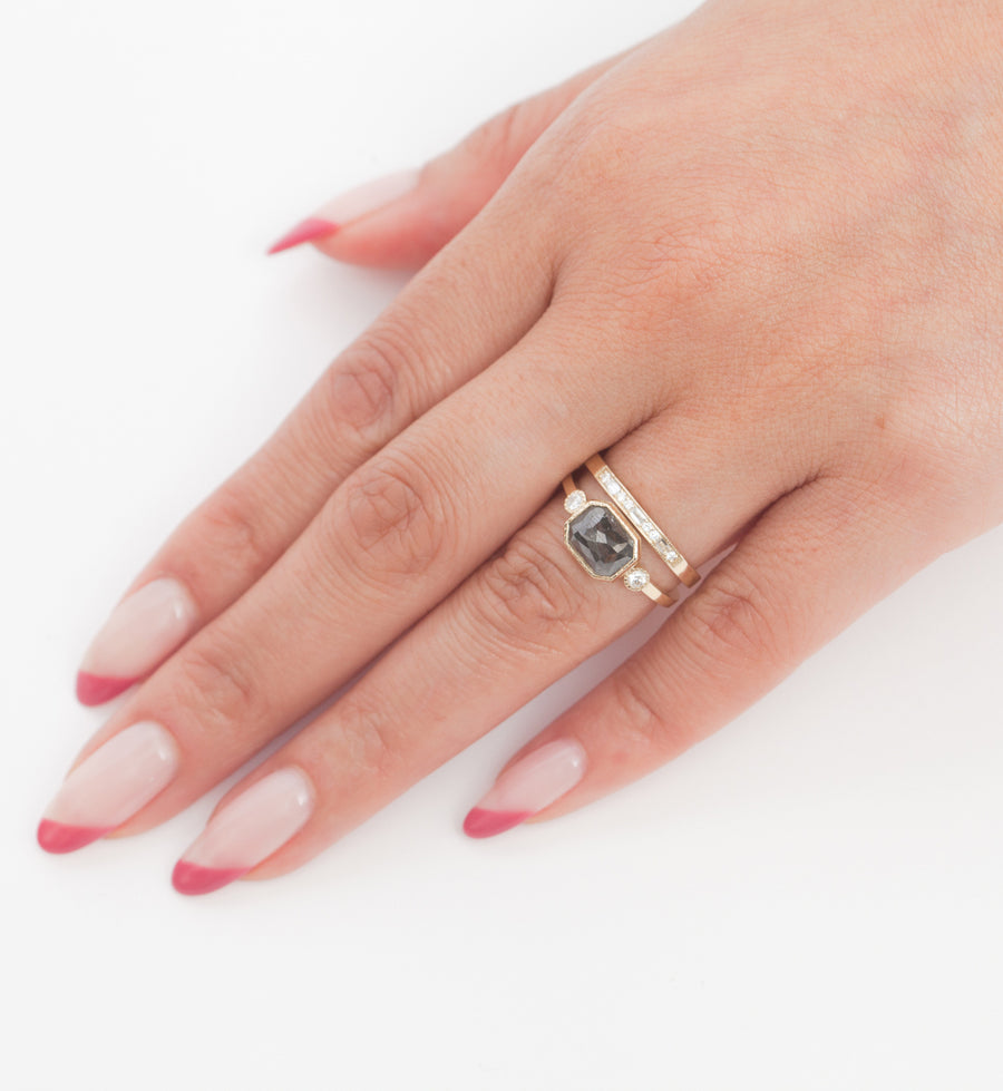 Diamond Staccato Ring