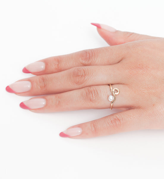 Pearl Clio Ring