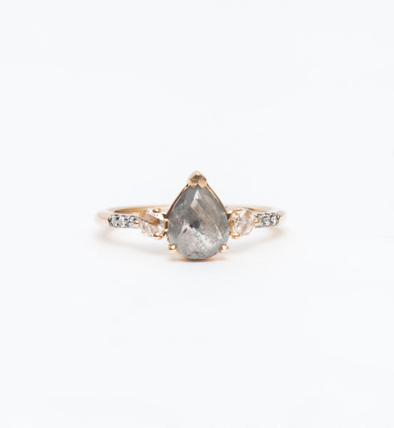 Grey Diamond Grand Radiance Ring