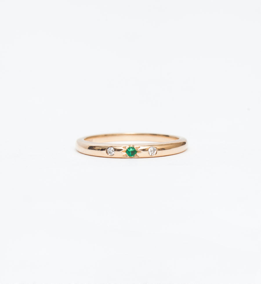 Emerald Mystic Ring