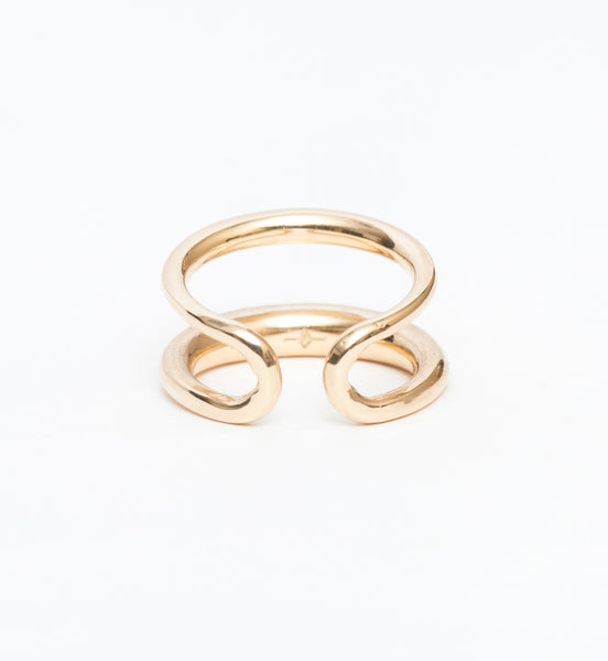 Twin Tusk Ring