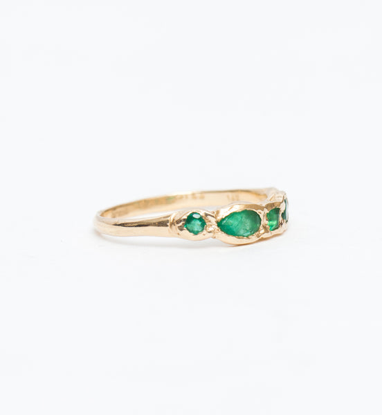 Journey Treasure Emerald Ring