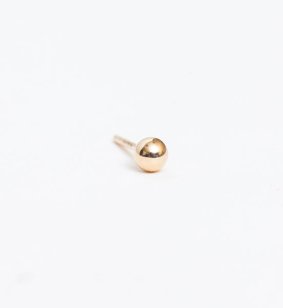 Gold 3 mm Ball Stud