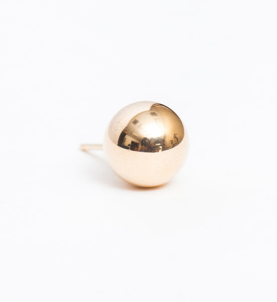 Gold 8 mm Ball Stud