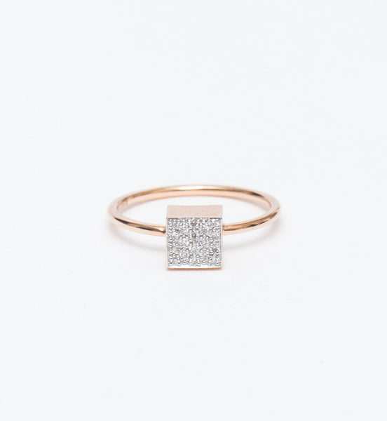Baby Diamond Ever Square Ring