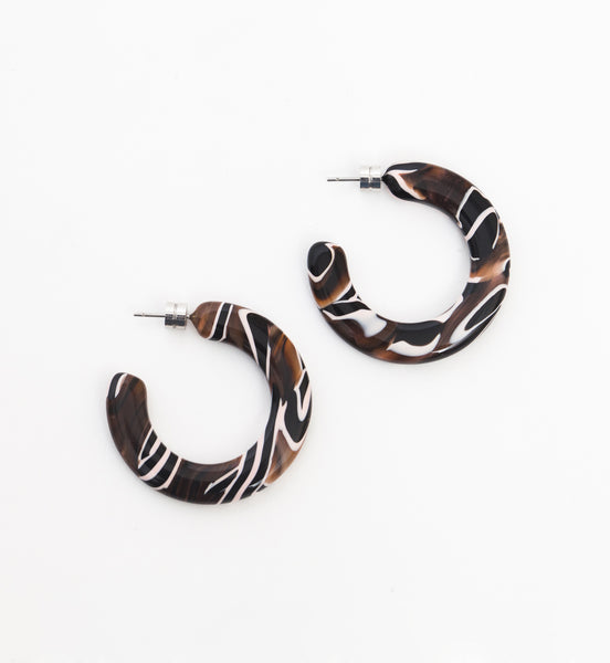 Zebra Kate Hoops