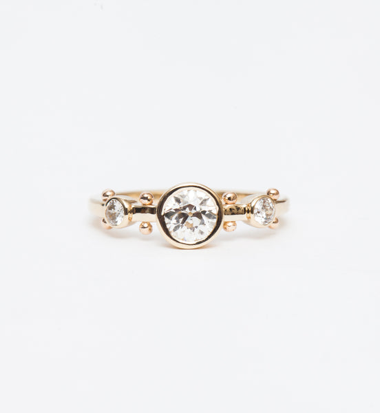 Old European Crown Kaori Trinity Ring