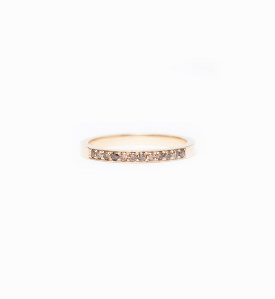 Champagne Diamond Milli Band: Front