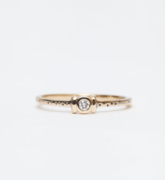 White Diamond Catori Ring