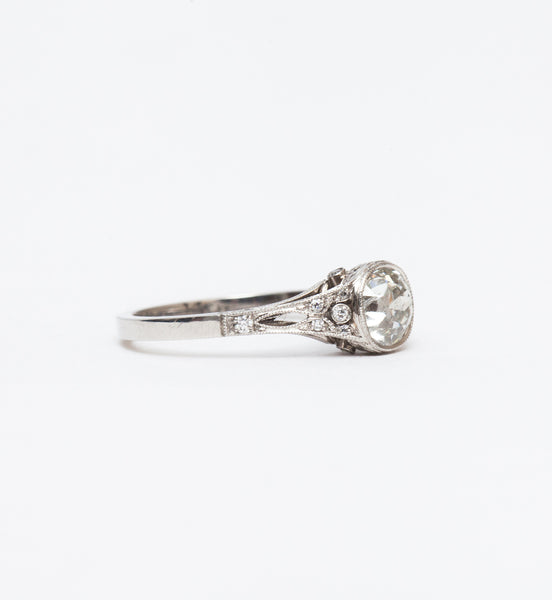Corinne Filigree Solitaire