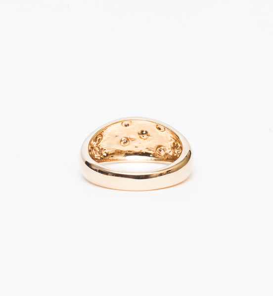 Celestial Diamonds Large Half Dome Ring