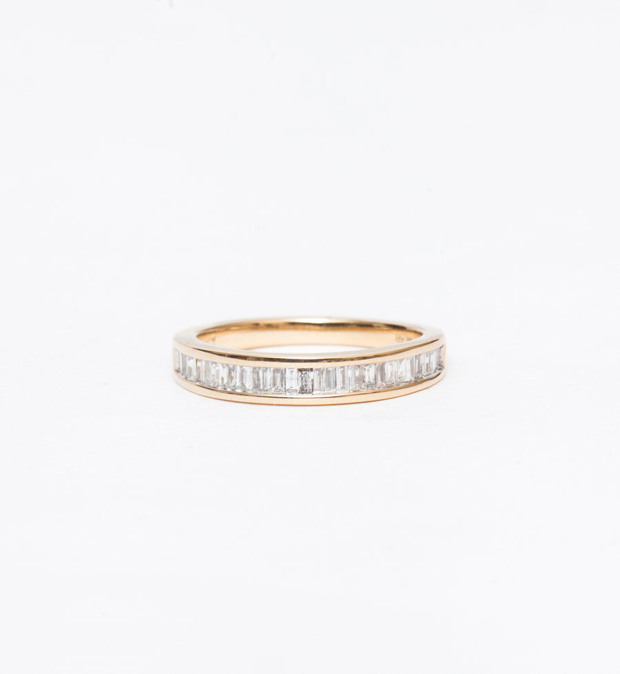 Small Heirloom Baguette Band Ring