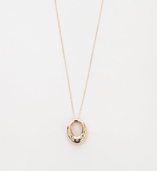Celestial Diamonds Open Oval Necklace