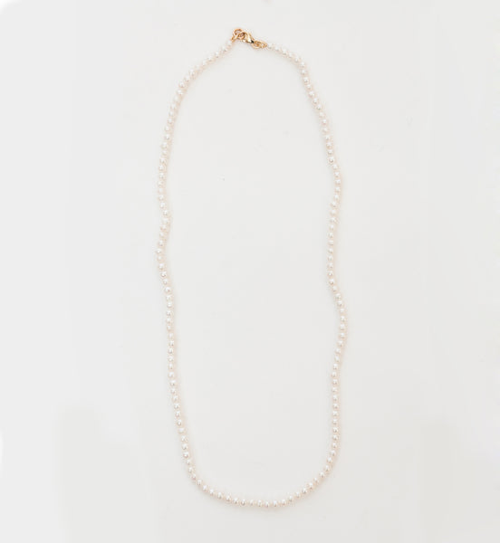 Micro Pearl Necklace