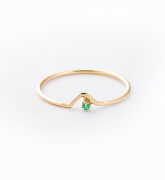 Emerald Triangle Lineage Ring: Front