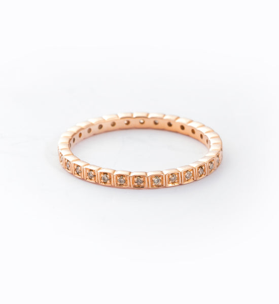 Wheat Eternity Band