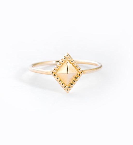 Diamond Milli Ring: Front