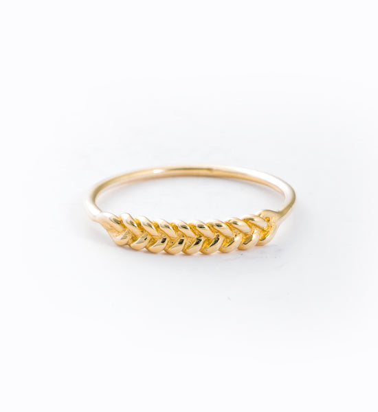 Braided Ring: Front