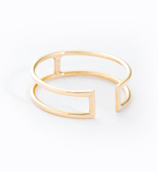 Open Wire Rectangle Ring: Angle