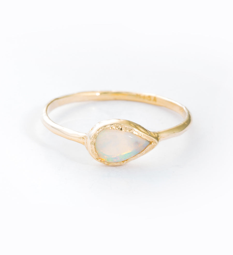 Opal Compass Ring: Front