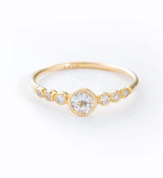Dew Drops Ring: Front