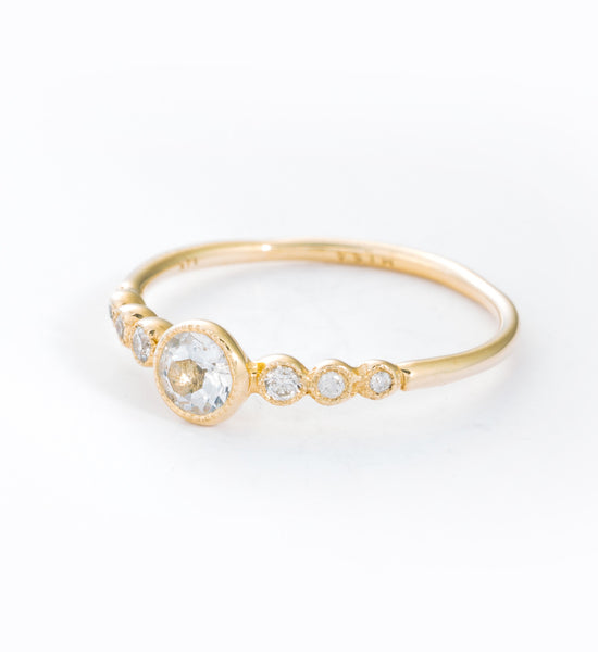 Dew Drops Ring: Angle