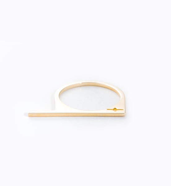 Thin Staple Ring: Front