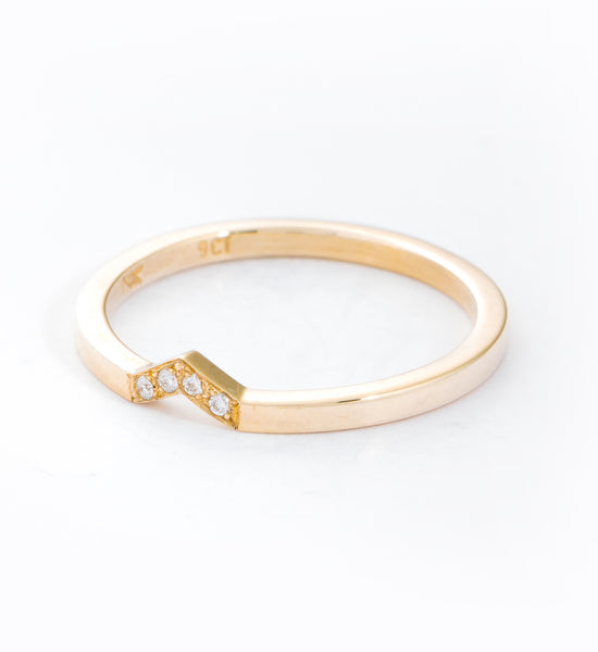 Diamond Arrow Band: Angle