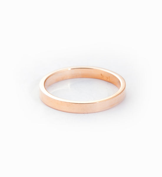 Rose Gold Supra Midi Ring