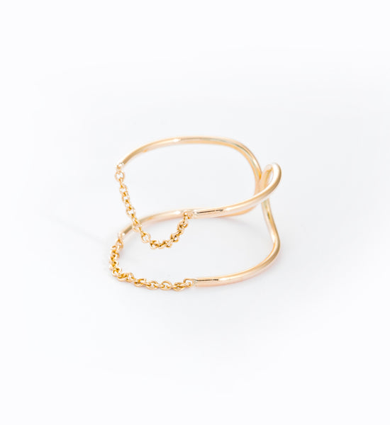 Chain Ellipse Ring: Angle