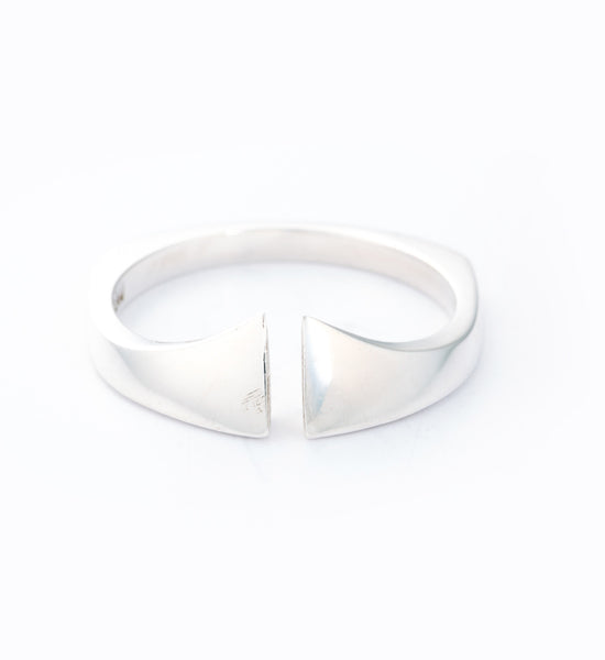 Silver Nuance Ring: Front