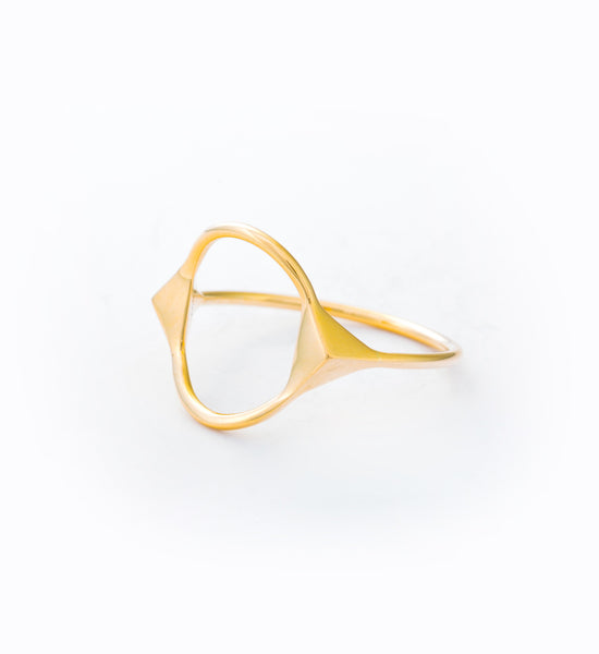 Spike Monocle Ring: Angle