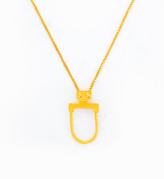Gold Rebel Rebel Necklace