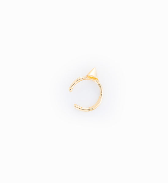 Gold Vermeil Tiny Viviennne Ear Cuff