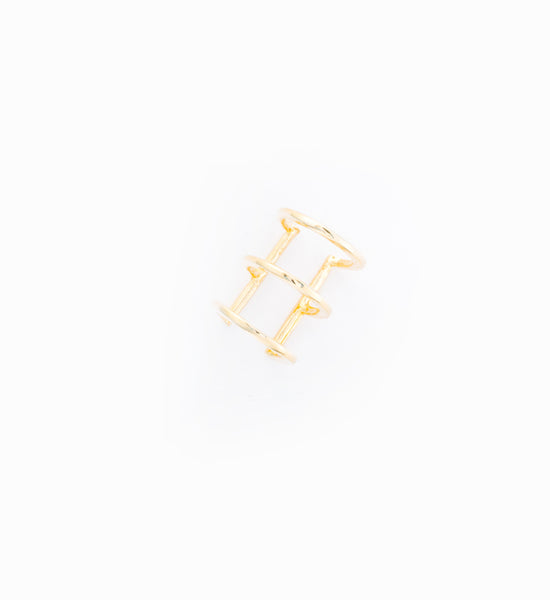 Delicate Caged Ear Cuff