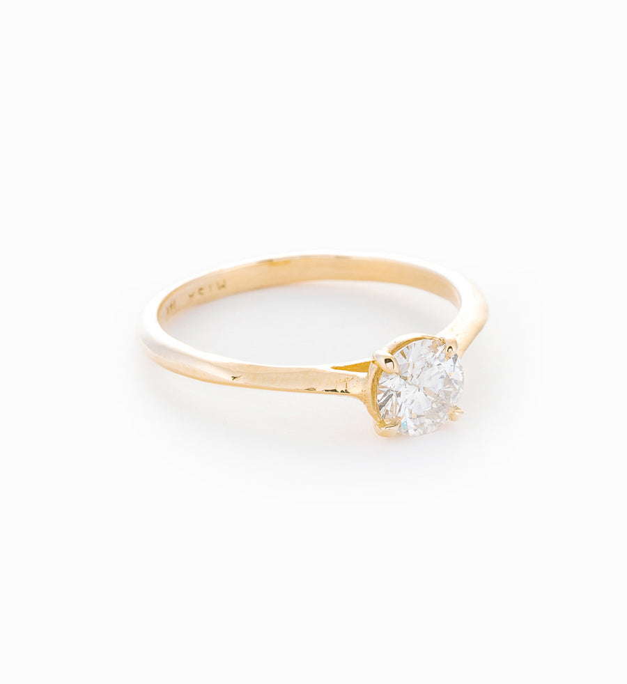 Aerial Diamond Ring: Angle
